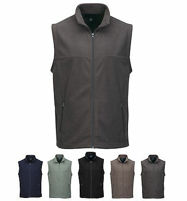Men's Mid-Weight, Anti-Pill, Zip Micro Fleece Vest, Pockets S-4Xl, Tall Lt-4Xlt