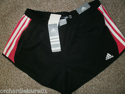 Adidas Womens Essentials MF 3S Running Fitness Shorts - Ladies Gym size 16 or 18