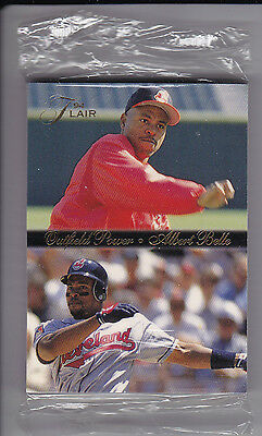 1994 Flair Baseball Trading Cards - Unopened Cello Pack