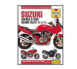 Suzuki GSF600 GSF1200 Bandit 1995-2006 Haynes Workshop Service Manual
