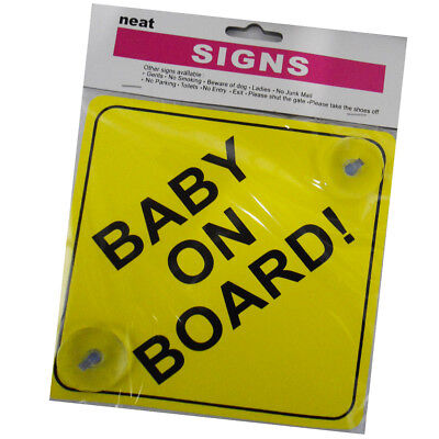 Baby/Prince/Princess on Board Child Safety Car Sign with Suction Hook Vehicle