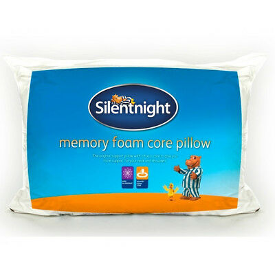 Silentnight  Memory Foam Core With Supportive Hollowfibre Surround - Pillow