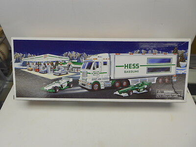 2003 Hess Toy Truck and Race Cars NIB
