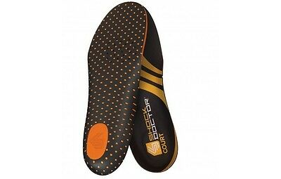 NEW Shock Doctor Basketball Tennis Volleyball Court Cushioned Full Foot Insoles