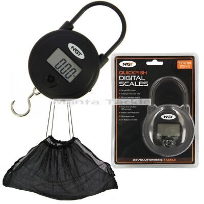"NEW 36"" Weigh Sling Fishing Carp Black Deluxe Soft Mesh Weighing Net + Stink Bag"