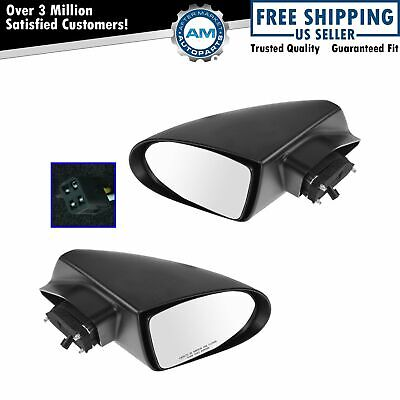 Power Side Mirrors Pair Left Right Lh Rh Paint To Match For 93 02 Chevy Camaro 94 48 Picclick