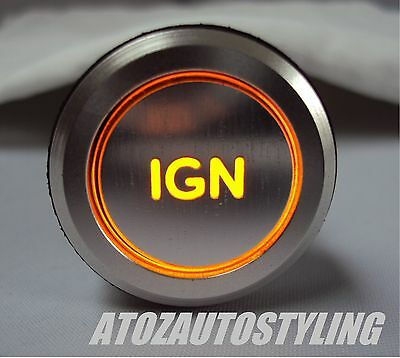 Engine Start IGNITION Savage SWITCH AMBER LED <<EXCLUSIVE>>