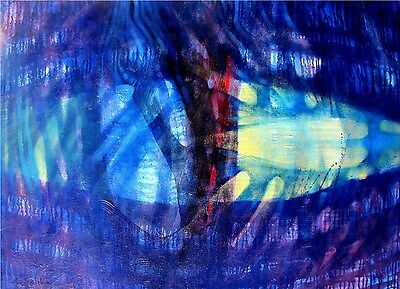 """STUNNING NEW CHRISTOPHER SALIBA ORIGINAL """"Cathedral"""" ABSTRACT PAINTING"""