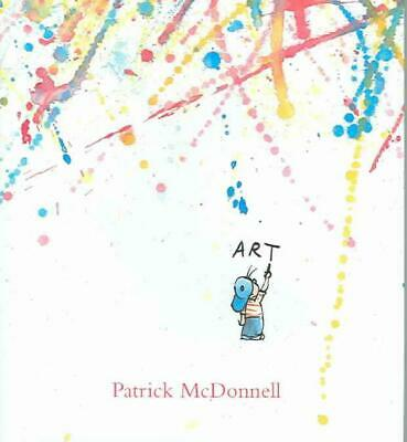 Art by Patrick McDonnell Hardcover Book (English)