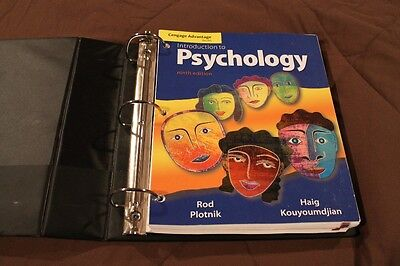 Intro to Psychology College Book