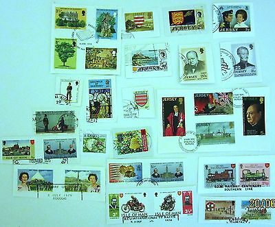 (22018) GB Regionals -  31 stamps Used On Piece