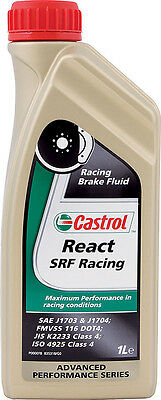 Castrol Srf Brake Fluid Hi-Temp Extreme Boiling Racing Lot(6) Wilwood Motul Ap