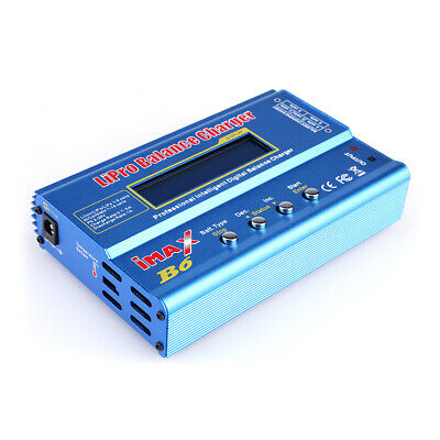 IMax B6 Digital LCD RC Lipo NiMh Battery Balance Charger accessories US Stock