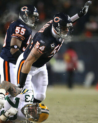 Chicago Bears 02 (Brian Urlacher)  American Football Photo Print