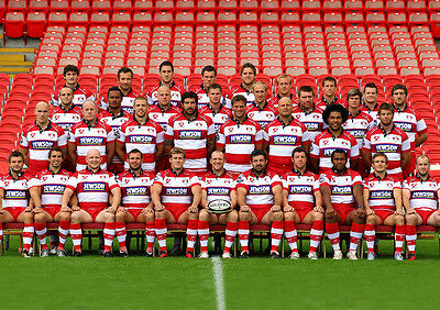 Gloucester Rugby Union Squad 01 Photo Print