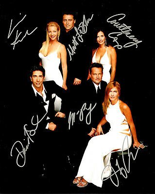 Jennifer Aniston (Friends) Cast Signed Photo Print 17