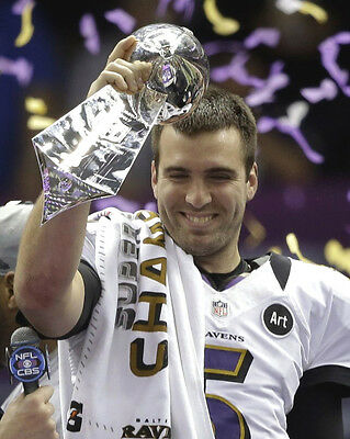 Ravens (Joe Flacco Quater Back) Superbowl2013 04 American Football Photo Print