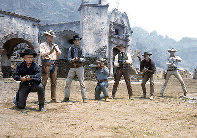 Yul Brynner 16 (Magnificent Seven) Photo Print