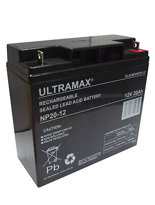Ultramax 12V 20Ah For UPS, Jump Starter, etc NP17-12; NP18-12