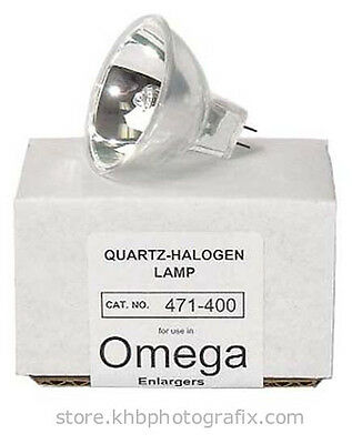 Omega 471-400 85W 82V Enlarger Lamp for C760 and C700 Dichroic Colorheads