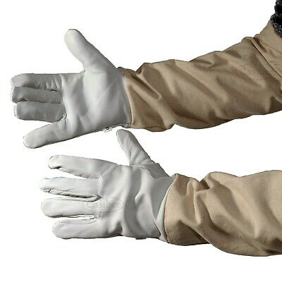 Beekeepers Bee Gloves 4 sizes Quality Leather New Beekeeping Easibee