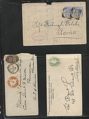 Great  Britain  early  cover  lot              MS0618