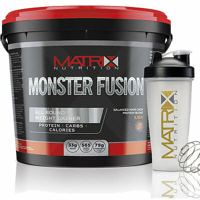 Monster Fusion | Mutant Anabolic Weight Gain | All Flavours | Matrix Nutrition