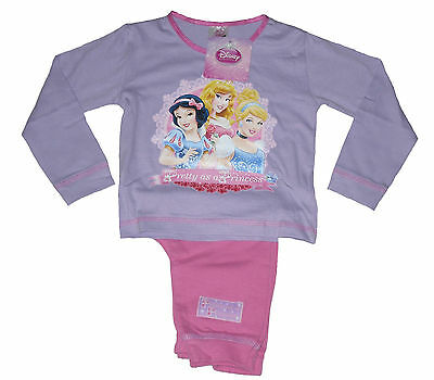 Baby Girls Pyjamas Disney Princess 12-18 & 18-24 Months Snuggle Fit