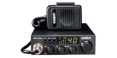 Uniden PRO-510XL CB Radio - HIGHEST Quality for a SMALL radio - Ask anyone - A+