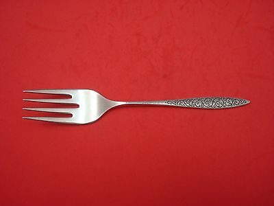 Spanish Lace by Wallace Sterling Silver Cold Meat Fork 8 1/4""