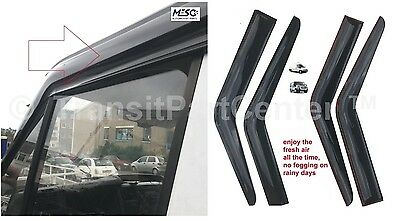 A Pair Of Brand New O.e Wind Rain Smoke Deflector Ford Transit Mk6 Mk7 2000-2014