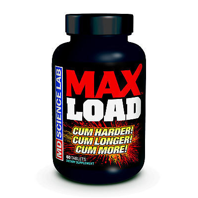 MD Science Lab Max Load Pills - Increase Ejaculate Volume and Intensify Orgasms