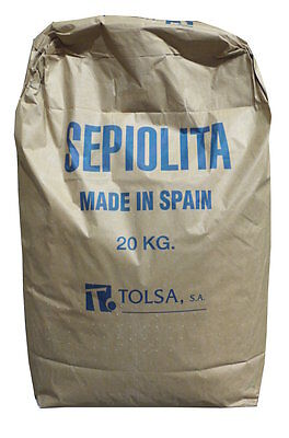 Sepiolita Sepolita Premium Chinchilla Degu Animal Bath Sand Dust 20 Kg Bulk New