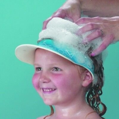 New Clippasafe Child Shampoo Eye Shield Bath Shower Cap Hat Hair Wash