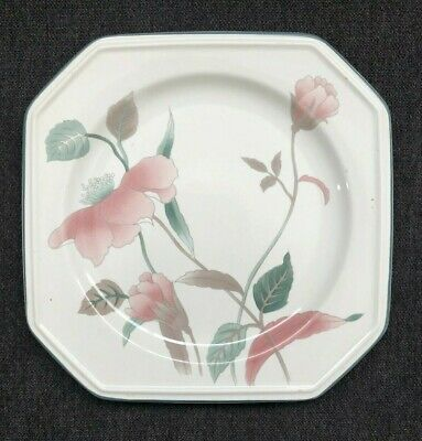 """Mikasa """"silk Flowers"""" ~ Bread And Butter Plate ~ F3003 ~ Registered Post"""