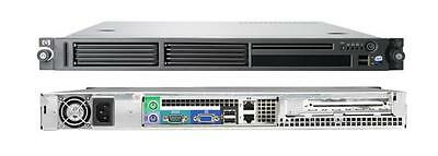 "19"" HP DL140 G3 Server 1 HE 2 x Quad Core XEON 2,66 GHz / 32 GB/ 2xSATA RAID"