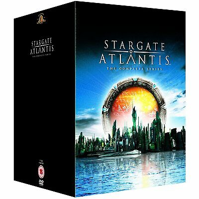 "Stargate Atlantis Complete Series Collection 1-5 Dvd Box Set 21 Disc R4 ""sealed"""