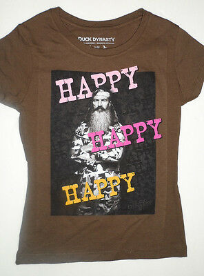 "XS//S//M//L//XL Duck Dynasty /""Peace Love Ducks/"" Girl/'s BlueT Shirt"