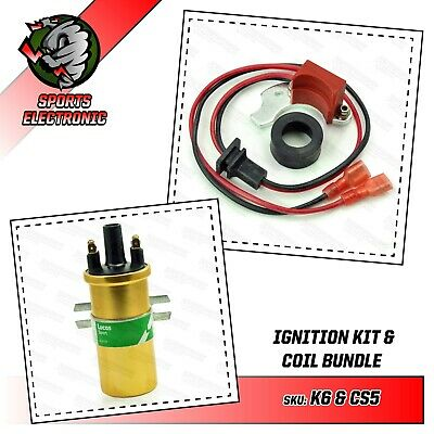 VW Camper T1 T2 T25 T3 T4 aircooled electronic ignition Lucas Gold Sports coil