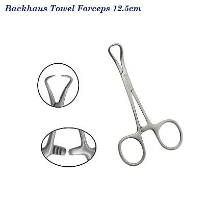 Backhaus Towel Forceps Dental Instruments , Backhaus Towel Clamp