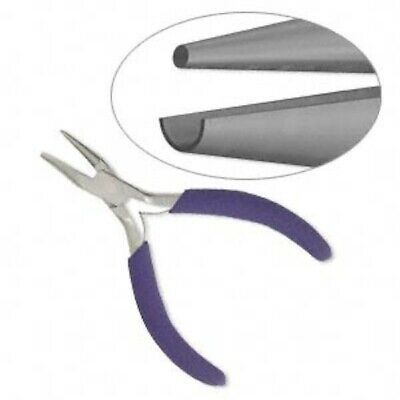 1 Round Nose & Concave Wire Looping Pliers  ~For Wire Looping, Shaping & Bending