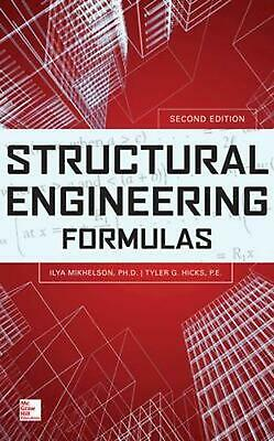 Structural Engineering Formulas by Ilya Mikhelson (English) Hardcover Book Free