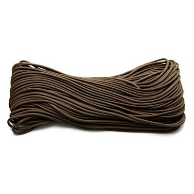 Coyote Brown 550LB 100% Nylon Paracord Type III Rope - 100 FT
