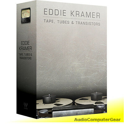 Waves Eddie Kramer TAPE, TUBES & TRANSISTORS Plugin Bundle NEW