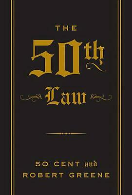 50th Law by Robert Greene (English) Paperback Book Free Shipping!