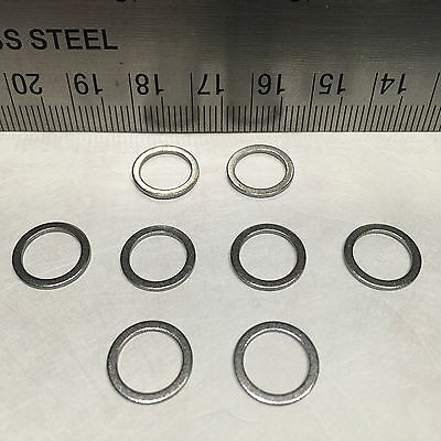 New Set 8 Speed Rings/washers For Skateboard/longboard Wheel Axle Less Friction!
