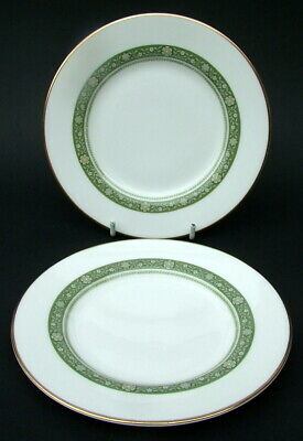 TWO Royal Doulton Rondelay H5004 Pattern Side or Bread Size Plates 16.5cm VGC
