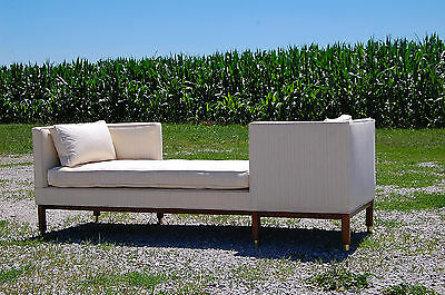 Edward Wormley Tete-a-Tete Dunbar sofa #5944