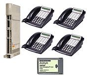 Lucent Avaya Partner ACS R6 Office Phone System w/ Voicemail &  (4) 18D (1) 34D