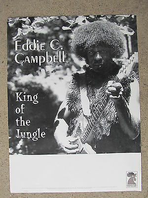 CHICAGO BLUES POSTER: EDDIE C. CAMPBELL King of the Jungle